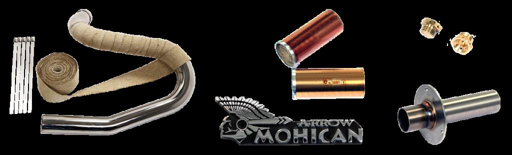 Accessori Mohican Exhaust per Harley Davidson®
