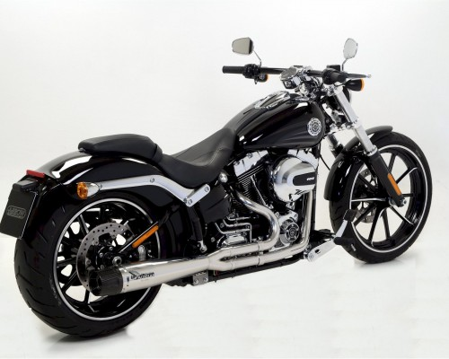 Harley Davidson® Breakout with polish Mohican Exhaust Full system