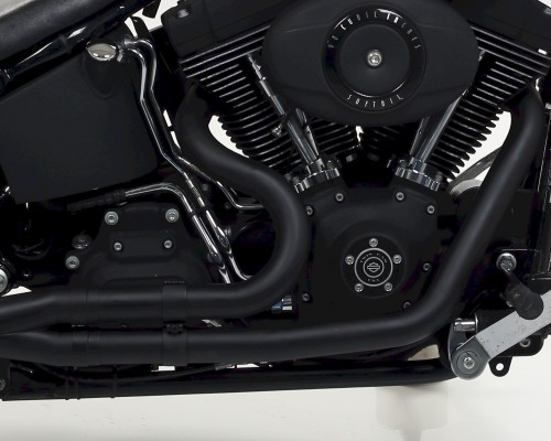 Mohican Exhaust for Harley Davidson® black collectors